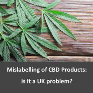 CBD mislabelling could be a UK problem